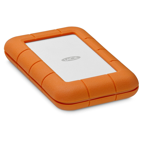 LaCie Rugged Thunderbolt USB-C 1TB SSD Portable Hard Drive (STFS1000401)