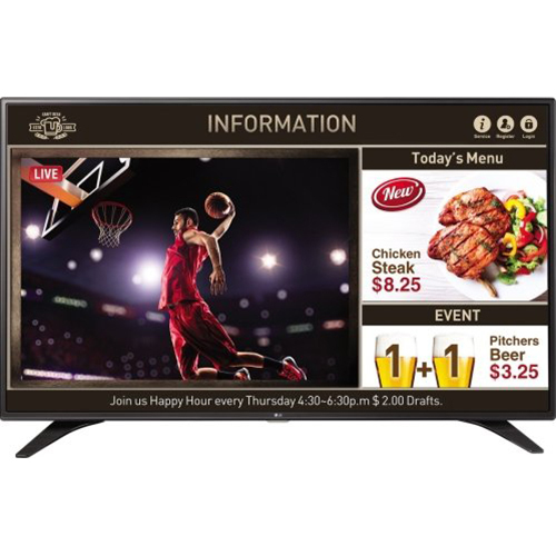 LG 55` Full HD Digital Signage Display - 55LV640S