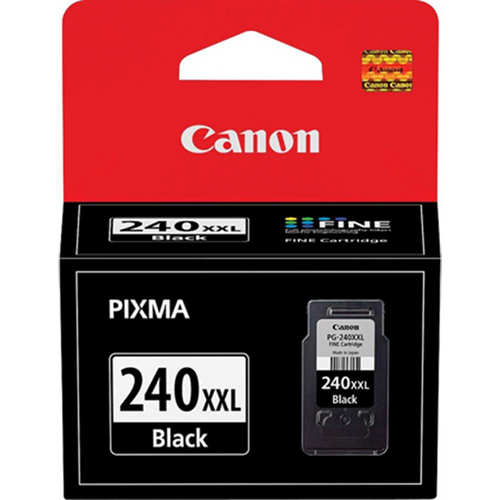 Canon PG-240XXL Black Ink Cartridge for PIXMA MG2120, MG3120, MG4120, MX372 Printers