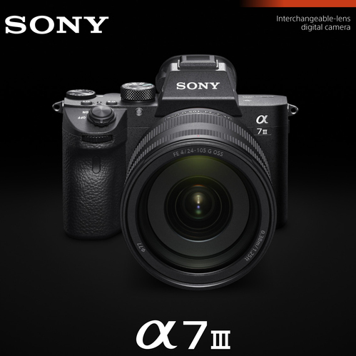 a7III Full Frame Mirrorless Interchangeable Lens Camera (Body Only) ILCE-7M3