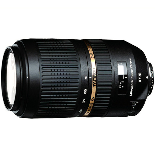 Tamron SP AF70-300mm Di VC USD For Nikon AF, With 6-Year USA Warranty