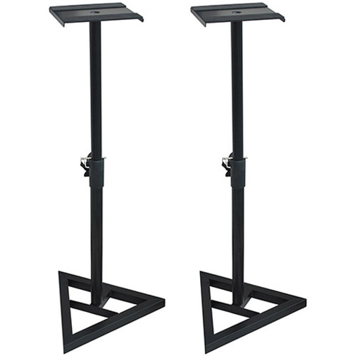 Deco Mount Pair of PA Speaker Stands Holds up to 10` Speakers - SS3518-K