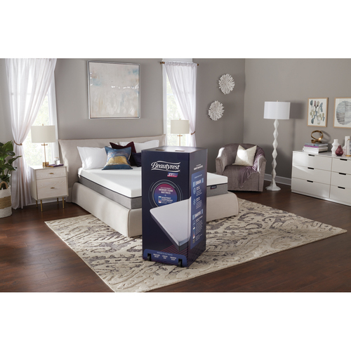 Simmons Beautyrest ST 10` King Memory Foam W/ Sleep Tracker (700753852-8060)
