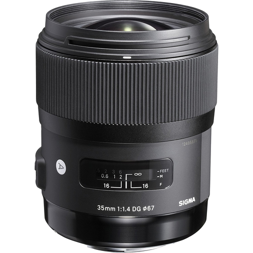 Sigma Art 35mm F/1.4 DG HSM Wide-Angle Lens for Sony E Mount Cameras