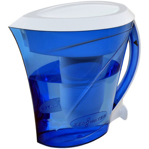 ZeroWater 8 Cup Filtration Pitcher with Filter and TDS meter
