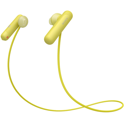 Sony SP500 In-Ear Sport Headphones w/ Bluetooth - Yellow (WISP500/Y)
