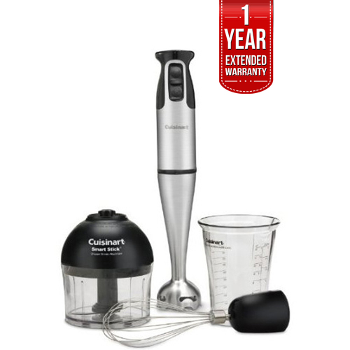 Cuisinart Smart Stick 2-Speed 200-watt Immersion Hand Blender + 1 Year Warranty