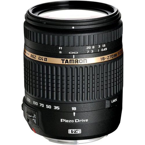 Tamron 18-270mm f/3.5-6.3 Di II VC PZD Aspherical Refurbished for Canon DSLR