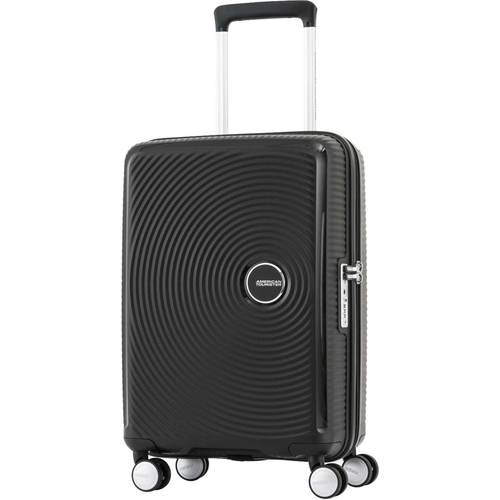 American Tourister 20` Curio Spinner Hardside Luggage, Black