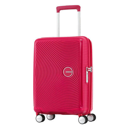 American Tourister 20` Curio Hardside Spinner Luggage, Pink