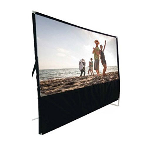 RCA RPJ144 100` Diagonal Portable Projector Screen With Stand