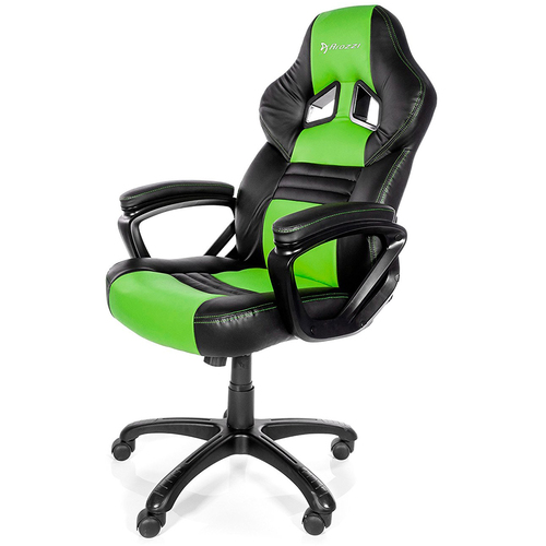 Arozzi Monza Series Gaming Racing Style Swivel Chair - Green