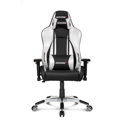 AKRacing Masters Series Premium Gaming Chair - Silver