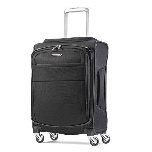 Samsonite 20` Eco-Glide Expandable Spinner Luggage - Midnight Black
