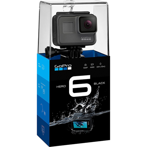 GoPro HERO6 Black Action Camera (AS IS)