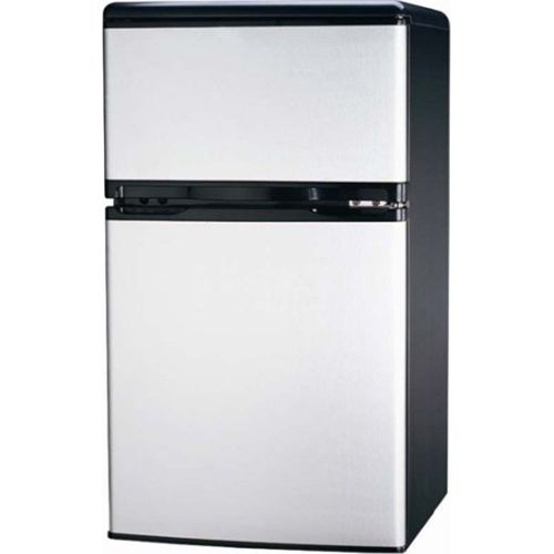 Igloo FR834 3.2 CU Ft Compact Fridge Freezer 2-Door, Platinum (OPEN BOX)
