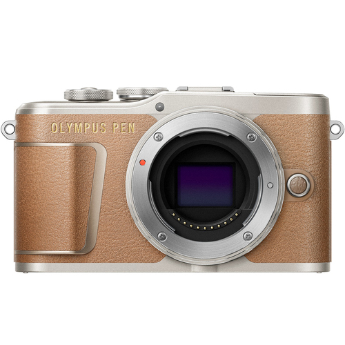 Olympus PEN E-PL9 16.1 MP Wi-Fi 4K Mirrorless Camera Body - (Honey Brown)