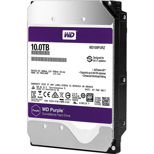 Western Digital WD 10TB Surveillance HD
