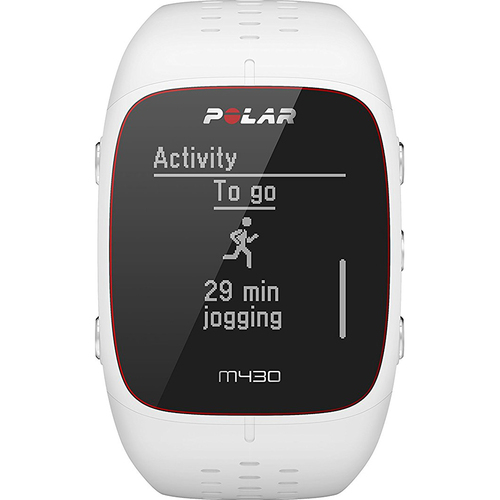 Polar M430 GPS Running Watch, White/Small