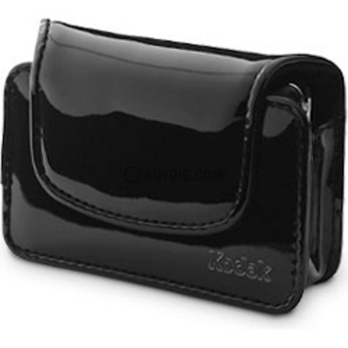 Kodak Chic Patent Leatherette Camera Case - Black
