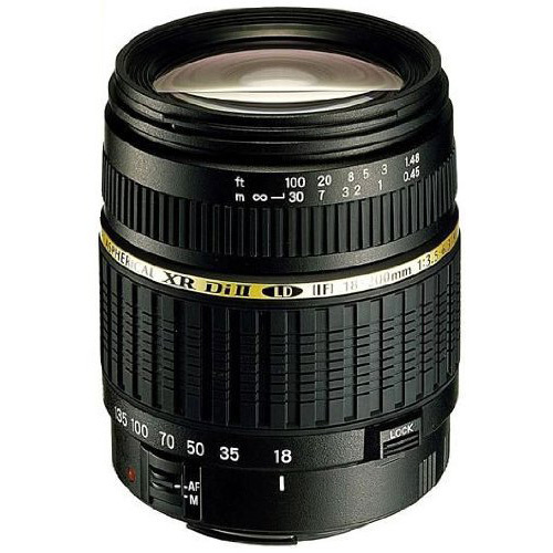 Tamron 18-200mm F/3.5-6.3 AF  DI-II LD IF Lens For Canon EOS, With 6-Year USA Warranty