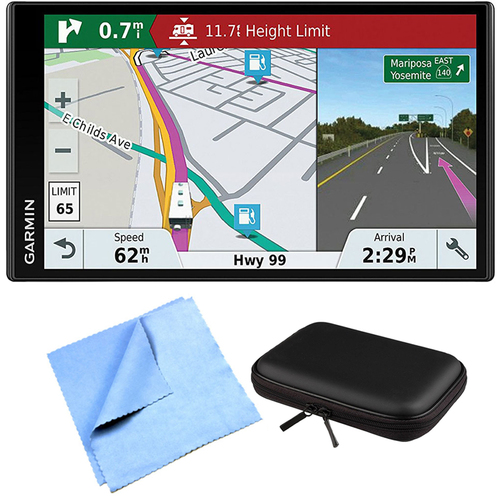 Garmin RV 770 NA LMT-S RV GPS Navigator for Camping Enthusiast w/ Hardshell Case Bundle