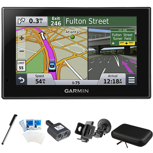 Garmin nuvi 2689LMT Advanced Series 6` Display GPS Navigation System Mount Bundle