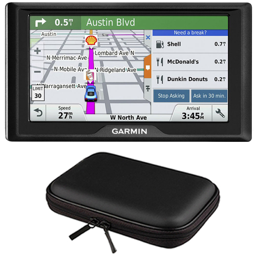 Garmin Drive 60LM GPS Navigator (US) - 010-01533-0C Case Bundle