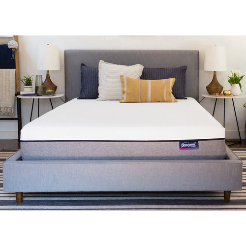 "Simmons Beautysleep 8"" Memory Foam Mattress-In-A-Box: Queen $299, Twin $189"
