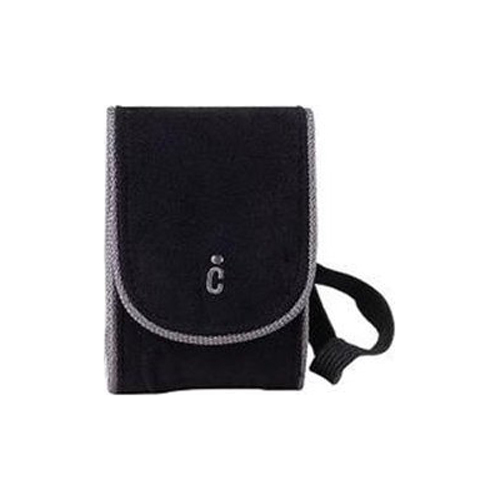 Ultra-Compact Deluxe Carrying Case - Black (Measures 4.5