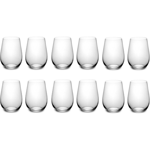 Riedel 260 Years Celebration O Tumblers for Riesling/Zinfandel; 12 Glasses