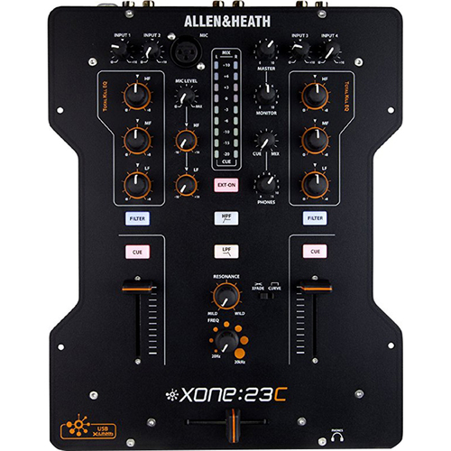 Allen & Heath High Performance DJ Mixer + Internal Soundcard - XONE:23C (OPEN BOX)