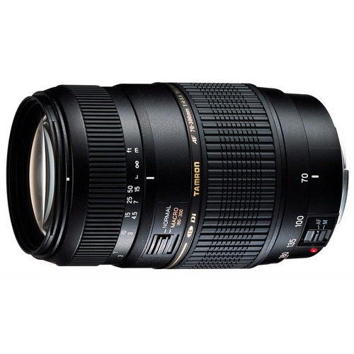 Tamron 70-300mm 1:2 F/4-5.6 DI LD Macro For Pentax AF With 6-Year USA Warranty