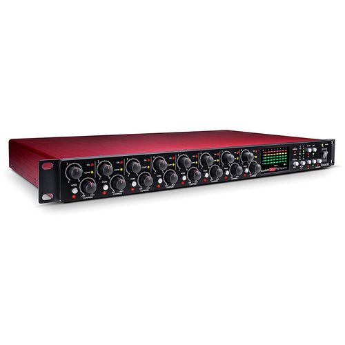 Scarlett OctoPre Dynamic 8-Channel Mic Pre Expansion w/ Analog Compression,8 i/o