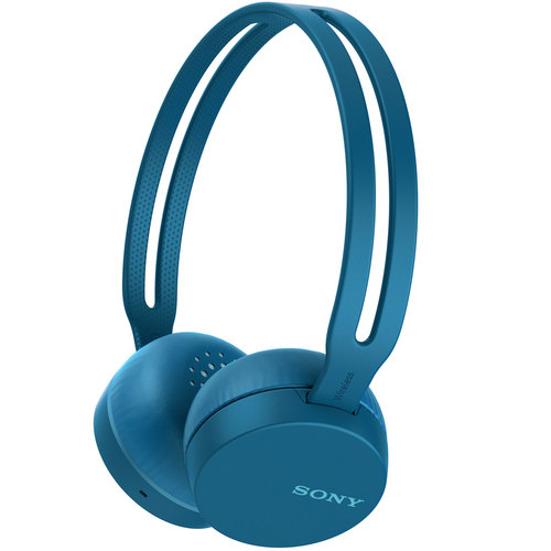Sony WH-CH400/L Wireless Headphones with Bluetooth, Blue (WHCH400/L)