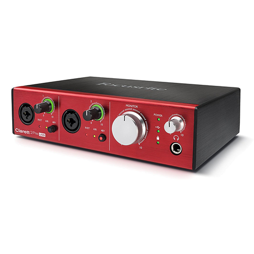 Clarett 2Pre USB 10-In/4-Out Audio Interface