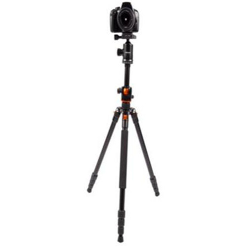 Vivitar Aluminum Alloy 67` Horizontal Arm Tripod with Ball Head, 15.5 Lb Capacity