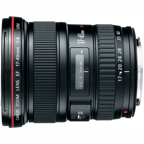 Canon EF 17-40mm F/4 L USM Lens w/ 1-Year USA Warranty