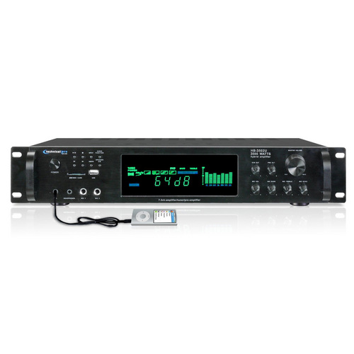 Technical Pro HB3502URBT Bluetooth Digital Amplifier with AM/FM Tuner and Recording