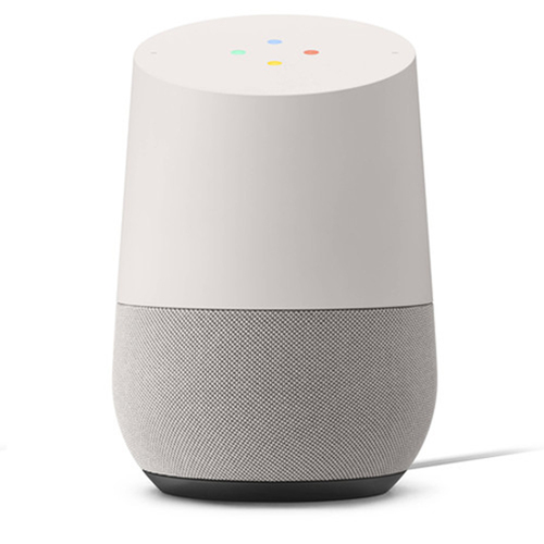Home Smart Speaker with Google Assistant, White/Slate (GA3A00417A14)