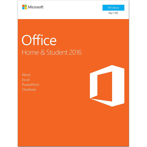Microsoft Office Home And Student 2016 Wi - 79G-04287