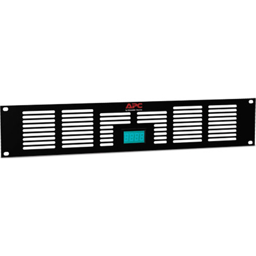 APC NetShelter 2U Vent Panel with Temperature Display - ACAC40000