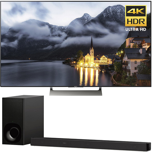 Sony 55-inch 4K HDR Ultra HD Smart LED TV 2017 Model + Sony 3.1ch Soundbar