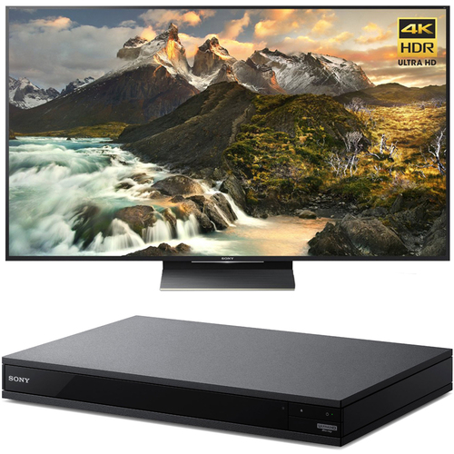 Sony 75-Inch Class 4K Ultra HD TV + Blu-Ray Player with Hi Res