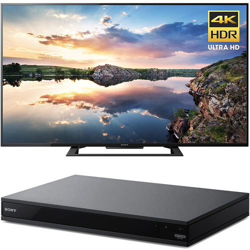 Sony 60-Inch 4K Ultra HD Smart LED TV 2017 Model + Blu-Ray Player with Hi Res