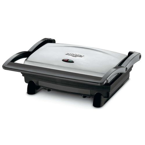 Cuisinart Griddler Panini and Sandwich Press, GR-1FR, Stainless Steel Refurbished