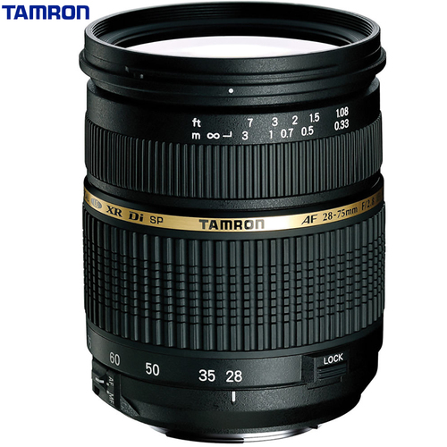 Tamron 28-75mm F/2.8 SP AF Macro XR Di LD-IF For Canon AF09C-700 -Certified Refurbished