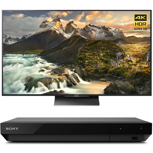 Sony 75-Inch Class 4K Ultra HD TV + UHD Blu-Ray Player with Dolby Vision