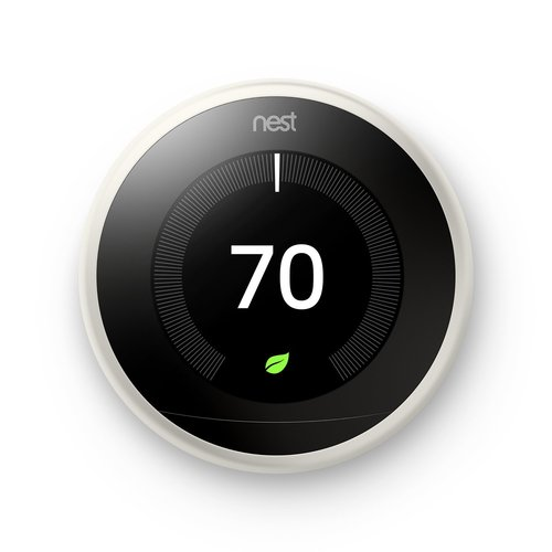 Learning Smart Thermostat (3rd Generation, White) T3017US