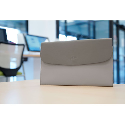 """Tablet and Accessories LG Gram 14/"""" Executive Case for Laptop Grey Notebook"""